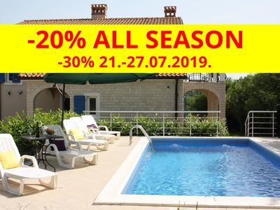 Photo for Luxury villa with pool in a small Istrian village near the sea