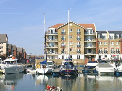 Photo for Fabulously Located Marina Apartment - Superb Waterside Views