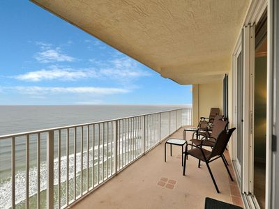 Photo for Oceanfront condo w/ balcony, great views, shared pool/hot tub & beach access!