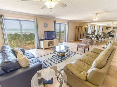 Photo for Dreaming Dunes, 4 Bedrooms, Sleeps 8, Ocean Front, WiFi