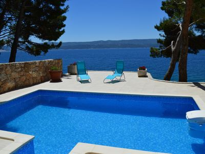 Photo for HOUSE SEASIDE, villa with pool, terrace and sea view, 3 rooms