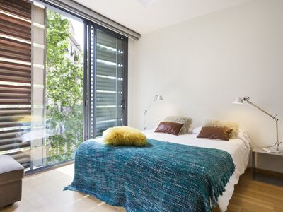 Photo for Great offer! Apartment with Pool in the Center of Barcelona for 8 - Free Wi-Fi