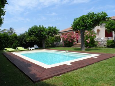 Photo for Beautiful independent villa any comfort 7 people with nice garden and swimming pool