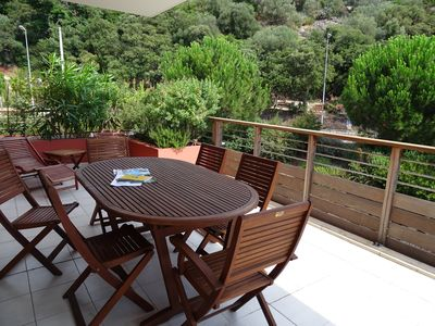 Photo for For 4 people close to the beach, swimming pool, comfortable