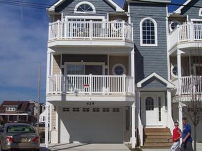 Photo for Beautiful Beach Block Condo Steps from the Beach and Boardwalk
