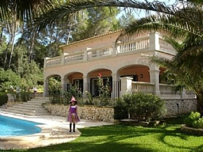 Photo for Beautiful Villa With Private Pool And Gardens With Sea Views