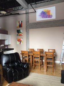 Photo for South Haven Loft Walking Distance To Town!!!