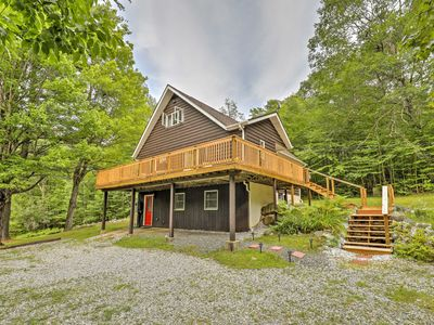 Photo for Quiet Au Sable Forks Home w/Great Deck & Fire Pit!