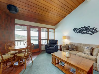 Photo for NEW LISTING! Waterfront condo by the beach-access available to gym
