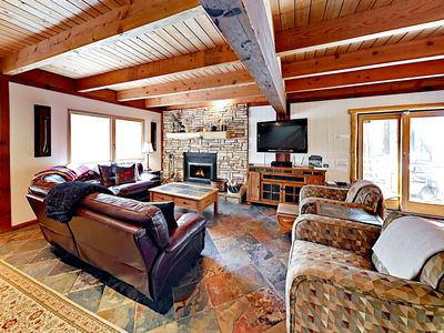 Photo for Stylish 3BR Mountain Lodge - Minutes to Heavenly