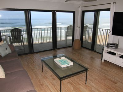 Photo for Awesome Direct Oceanfront, Total Update, King & 2 Full, Sleeps 6, No-Drive Beach