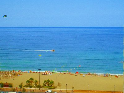 Photo for Sea view Central in Los Boliches-Fuengirola. Free internet !