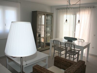 Photo for Beautiful 2 bedroom apart, near beach, a. a., parking, elevator, VFT / CA / 04787