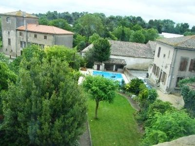 Photo for Original rental : Former Convent from 1877 in Carcassonne, for 8 pax, pool