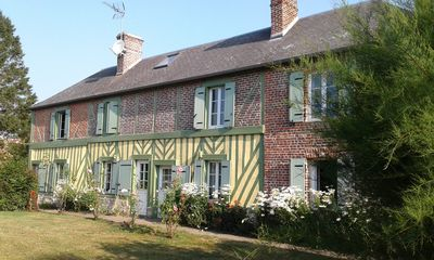 Photo for In the heart of the Pays d'Auge, a charming farmhouse, 30 minutes from all beaches