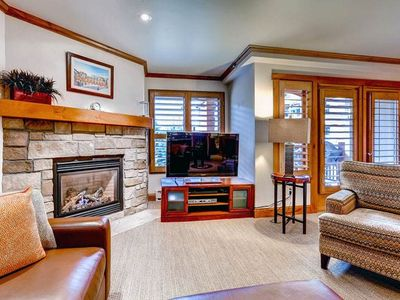 Photo for Escape to Vail, One Bedroom Condo, Steps to Lift, Hot Tub, Pool