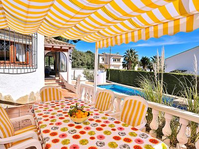 Photo for Vacation home Casa Toro  in Moraira, Costa Blanca - 6 persons, 3 bedrooms