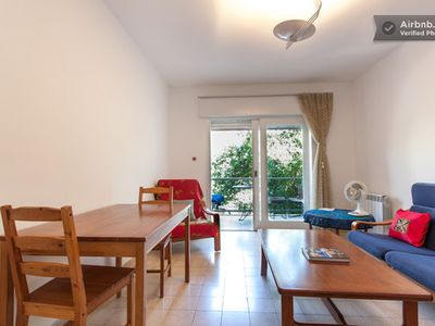 Photo for Charming, Airy Apt. with Balcony: Walk to Downtown, Old City, German Colony!