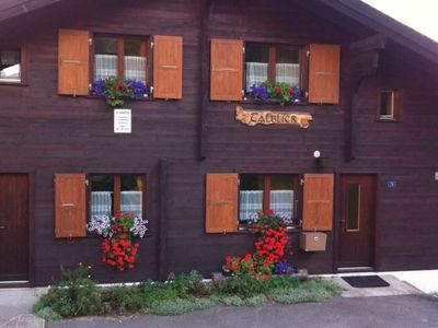Photo for Apartment Talblick 2. Stock in Riederalp - 4 persons, 1 bedrooms