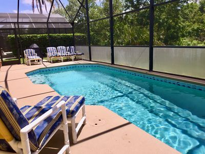 Photo for SPACIOUS HOME 3 miles to Disney, Free WiFi, Salt Water Pool, game room & more