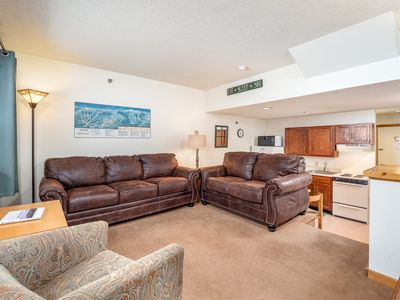 Photo for Ski-In / Ski-Out Slopeside Sunday River Condo with Hot Tub, Indoor Pool & Sauna