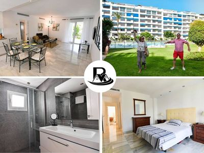 Photo for Fully RENOVATED NEW 2 Bedroom Apartment, HEART of Puerto Banús, Perfect Vacations ✔