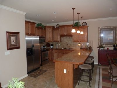 Full Kitchen with any and everything you need with lots of granite counter space