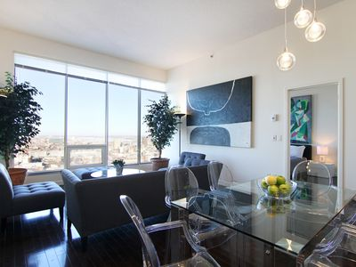 Photo for LUXURY DOWNTOWN SUITE 2 BEDROOM 2 BATH, WITH A CITY VIEW-400