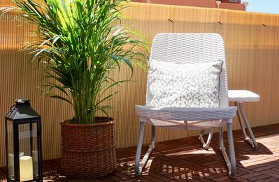 Photo for Charming Torremolinos: chill out terrace overlooking the sea for 4 pax.