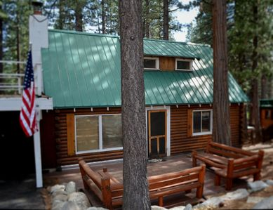 Photo for Charming Log Cabin | HOT TUB | Sauna | Pet Friendly | Walk to Beach - VideoTour