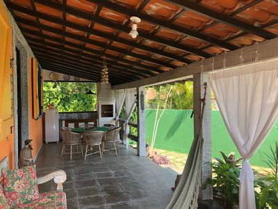 Photo for Beautiful house with swimming pool near the beach Geribá and Porto da Barra