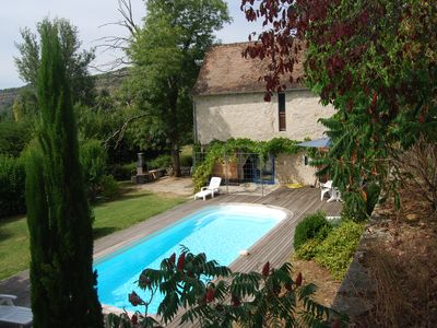 Photo for Charming renovated Quercy barn for 5/6, 8x4 pisc