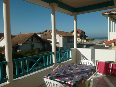Photo for Mimizan Plage: Apartment 50 m from the beach - Terrace SOUTH- WIFI Internet