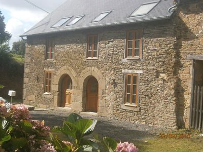 Photo for Beautiful renovated stone cottage, close to Brittany's major attractions