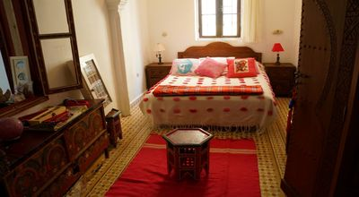 Photo for RIAD in the heights of the Medina of TANGIER, an incredible house - Bedroom 4