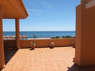Photo for Your vacation home with fantastic south-facing terrace and breathtaking sea view