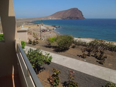 Photo for Luxury Villa Playa Tejita, 2 Pools, terrace, seafront, at the beach, TV, Wifi