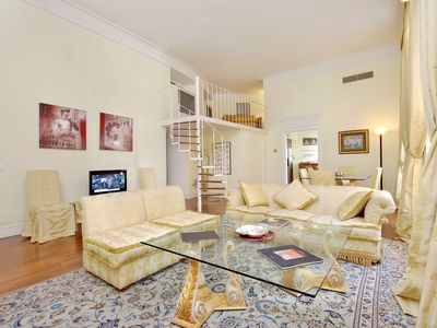 Photo for Elegant 3bdr duplex in the Flaminio District