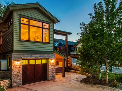 Photo for Woodside Designers Dream | Walk to Main St. | Private Hot Tub | Concierge