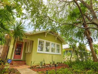 Photo for Midori Haus Cottage -- Historic Downtown Lake Worth