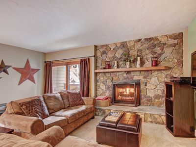 Photo for Charming Downtown Condo, W/D in Unit, Ski-In, Walk to Main Street, Upper Village Pool Access