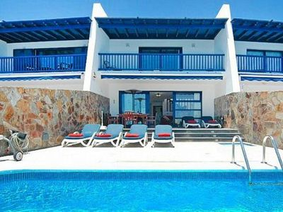 Photo for Terraced house Buena Fortuna, Puerto Calero  in Lanzarote - 6 persons, 3 bedrooms