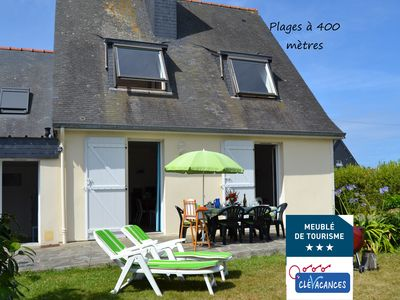 Photo for SAINT MALO Beaches at 400 m, quiet residential area, Wifi, shops, services