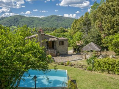 Photo for Roccastrada Holiday Home, Sleeps 8 with Pool and Air Con