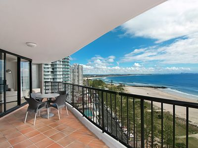 Photo for Calypso Tower Unit 1603 - Beachfront and Stunning ocean views
