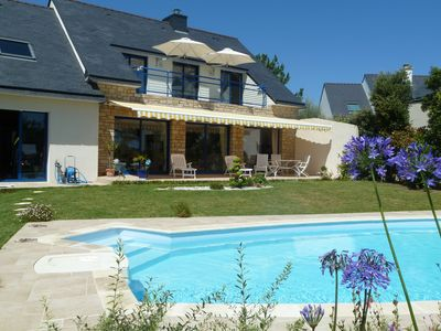 Photo for RECENT VILLA with SEA & ISLANDS VIEW , HEATED POOL 4 stars