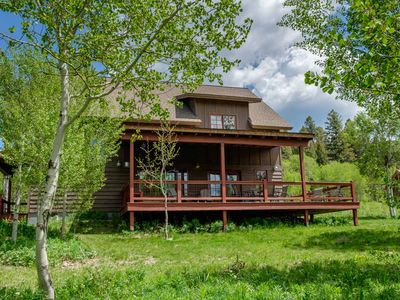 Photo for West of West - Large Home Minutes from West Yellowstone