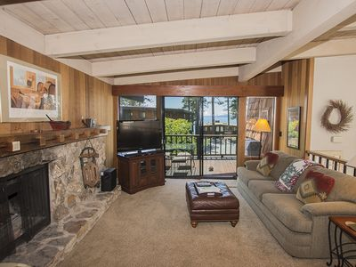 Photo for Star Harbor # 2: Tahoe City, Comfortable Star Harbor Condo with Lake View and Private Hot Tub