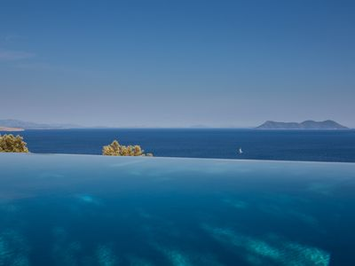 Photo for Villa Koumaria, a small corner of paradise overlooking the Ionian Sea