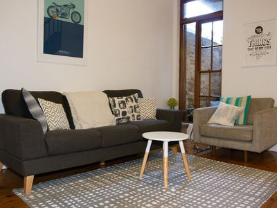 Photo for Stylish Terrace in Downtown Cooks Hill